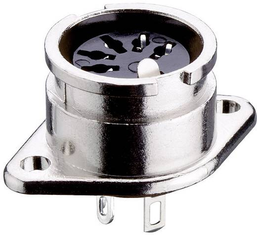DIN-Rundsteckverbinder Flanschbuchse, Kontakte gerade Polzahl: 3 Silber Lumberg 0107 03 1 St.