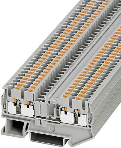 Push-In Vierleiterklemmen PT-QUATTRO PT 2,5-QUATTRO Phoenix Contact Grau Inhalt: 1 St.