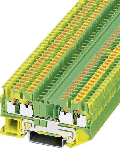 Push-In Schutzleiterklemme PT-PE PT 2,5-QUATTRO-PE Phoenix Contact Grün-Gelb Inhalt: 1 St.