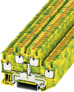 Phoenix Contact Schutzleiterklemme MBK 2,5//E-PE grün//gelb Schutzleitern 1402788