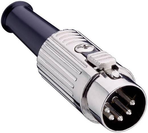 DIN-Rundsteckverbinder Stecker, gerade Polzahl: 5 Silber Lumberg 0137 05-1 1 St.