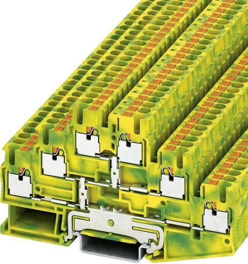 Push-In Dreistock-Schutzleiterklemme PT-PE PT 2,5-3PE Phoenix Contact Grün-Gelb Inhalt: 1 St.