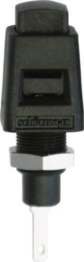 Einbau-Schnelldruckklemme Schwarz 5 A Schützinger ESD 4323 SW 1 St.
