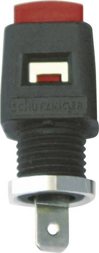 Einbau-Schnelldruckklemme Rot 16 A Schützinger 1 St.