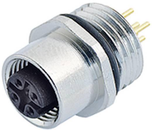 Sensor-/Aktor-Einbausteckverbinder M12 Buchse, gerade Polzahl (RJ): 5 Binder 09-3442-88-05 1 St.