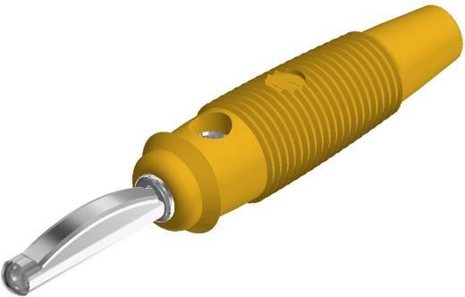Bananenstecker Stecker, gerade Stift-Ø: 4 mm Gelb SKS Hirschmann VQ 30 1 St.