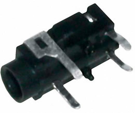 Klinken-Steckverbinder 3.5 mm Buchse, Einbau horizontal Polzahl: 3 Stereo Silber BKL Electronic 1 St.