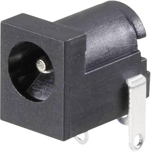 Niedervolt-Steckverbinder Buchse, Einbau horizontal 6.3 mm 2.5 mm Conrad Components 1 St.