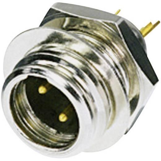 XLR-Steckverbinder Stecker, Einbau vertikal Polzahl: 3 Silber Rean AV RT3MP 1 St.