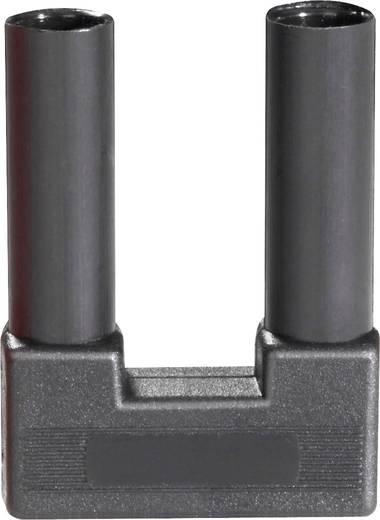 Sicherheits-Kurzschlussstecker Schwarz Stift-Ø: 4 mm Stiftabstand: 19 mm Schnepp SI-FK 19/4 sw 1 St.