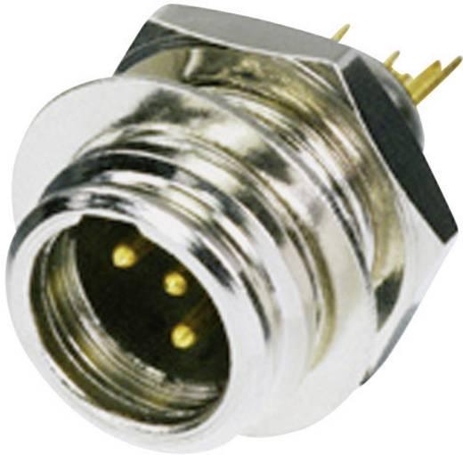 XLR-Steckverbinder Stecker, Einbau vertikal Polzahl: 4 Silber Rean AV RT4MP 1 St.
