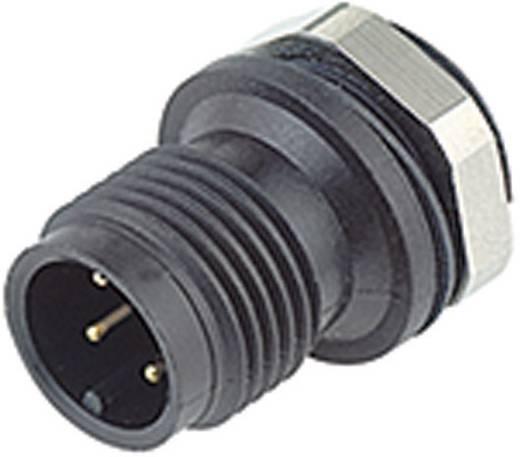 Sensor-/Aktor-Einbausteckverbinder M12 Stecker, gerade Polzahl: 4 Binder 09-0431-81-04 1 St.