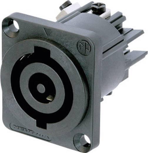 Netz-Steckverbinder Serie (Netzsteckverbinder) NAC Buchse, Einbau vertikal Gesamtpolzahl: 2 + PE 32 A Schwarz Neutrik N