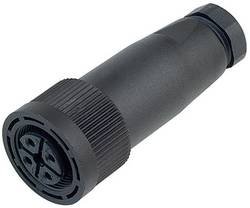 Neupravený zástrčkový konektor pro senzory - aktory Binder 09-0440-10-04, 20 ks
