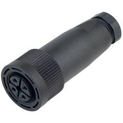 Neupravený zástrčkový konektor pro senzory - aktory Binder 09-0440-10-04 zásuvka, rovná, 20 ks