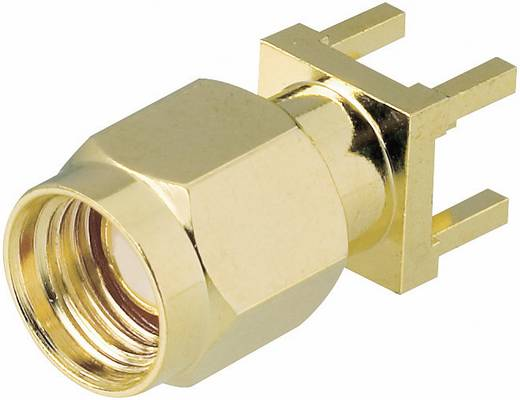 SMA-Reverse-Steckverbinder Stecker, Einbau vertikal 50 Ω BKL Electronic 0419021 1 St.