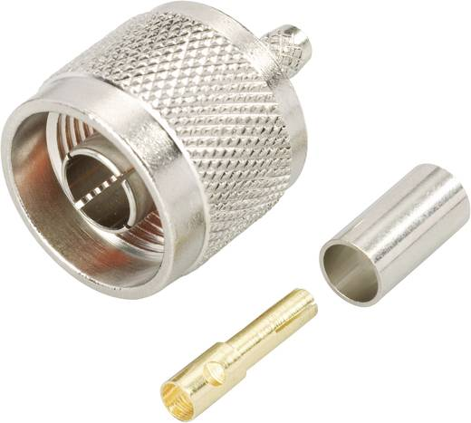 N-Reverse-Steckverbinder Stecker, gerade 50 Ω BKL Electronic 0419502 1 St.