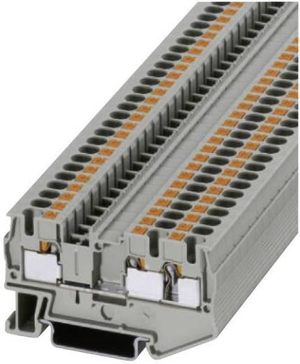 Push-In Dreileiterklemmen PT-TWIN PT 4-TWIN Phoenix Contact Grau Inhalt: 1 St.