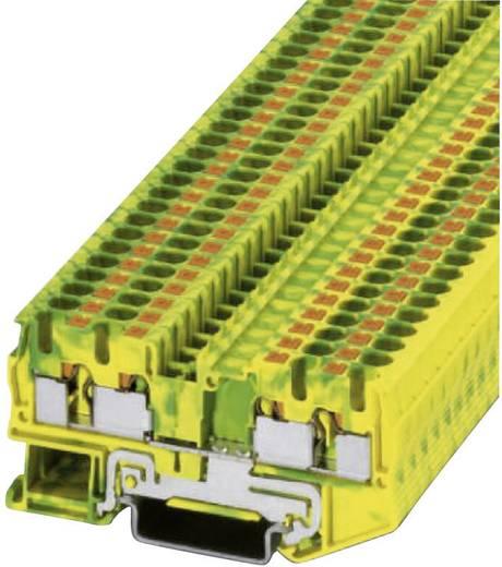 Push-In Schutzleiterklemme PT-PE PT 4-QUATTRO-PE Phoenix Contact Grün-Gelb Inhalt: 1 St.