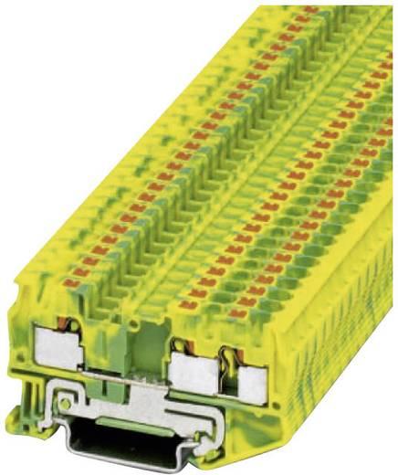 Push-In Schutzleiterklemme PT-PE PT 4-TWIN-PE Phoenix Contact Grün-Gelb Inhalt: 1 St.