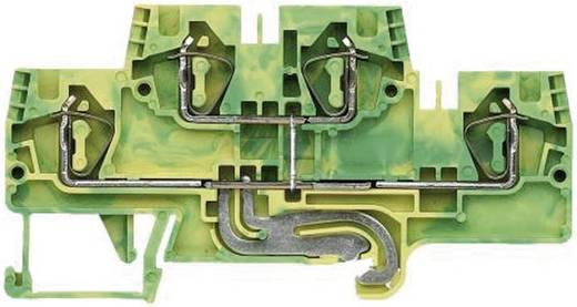 Etagen-Schutzleiterklemme fasis WKFN 4 E/SL/35 Wieland Grün-Gelb Inhalt: 1 St.