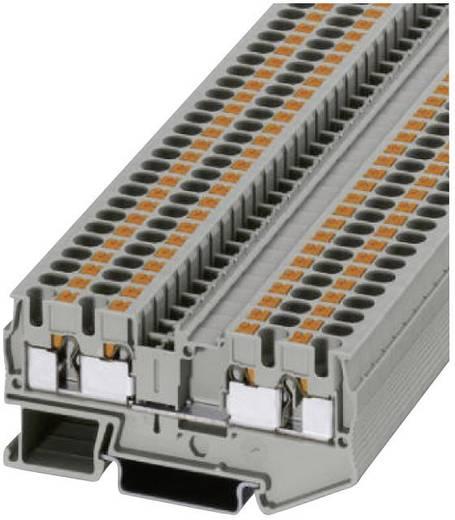 Push-In Vierleiterklemmen PT-QUATTRO PT 4-QUATTRO Phoenix Contact Grau Inhalt: 1 St.