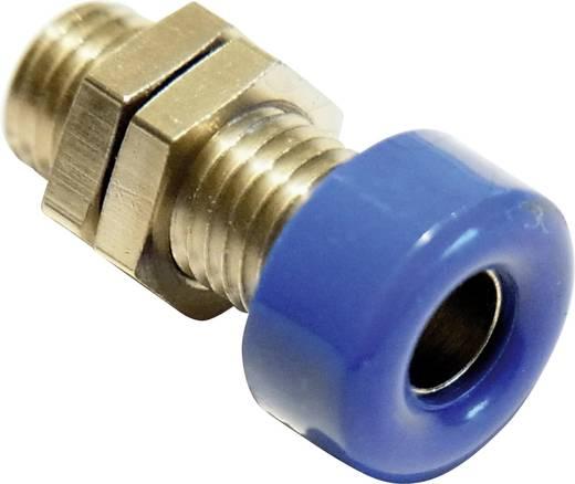 Laborbuchse Buchse, Einbau vertikal Stift-Ø: 4 mm Blau Schnepp 1 St.