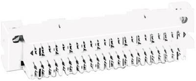 Listelli LSA-PLUS serie 1 Basetta di collegamento 10 conduttori doppi 6196 2 001-02 Grigio ADC Krone Contenuto: 1 pz.