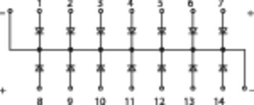 Diodengatterbaustein, Schienenmontierbar 289-111 WAGO Inhalt: 1 St.