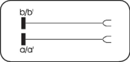 LSA-PLUS®-Prüfschnur Prüfschnur 2/2 1 Doppelader 6624 2 040-09 Weiß ADC Krone Inhalt: 1 St.