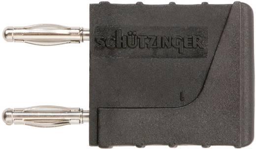 Verbindungsstecker Schwarz Stift-Ø: 2 mm Stiftabstand: 10 mm Schützinger KURZ 10 - 2 IG M / SW 1 St.