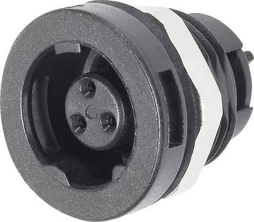 Subminiatur-Rundsteckverbinder Serie 420 Pole: 3 Flanschdose 1 A 09-4708-00-03 Binder 1 St.