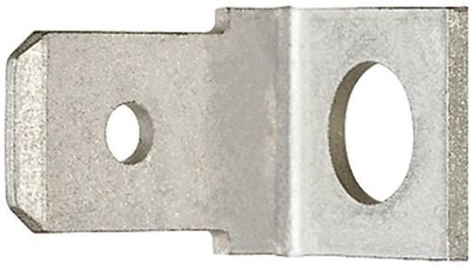 Steckzunge Steckbreite: 6.3 mm Steckdicke: 0.8 mm 90 ° Unisoliert Metall Klauke 2105 1 St.