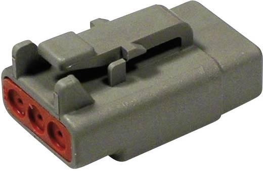 Steckverbinder DTM-Serie Pole: 3 Steckergehäuse 7.5 A DTM 06-3 S Deutsch 1 St.