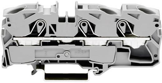 Schutzleiterklemme 12 mm Zugfeder Belegung: PE Grün-Gelb WAGO 2016-1307 1 St.