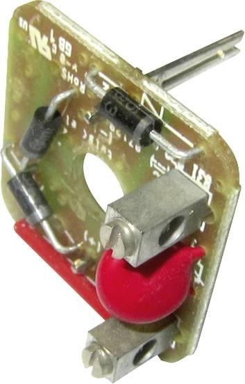 PE HTP Inhalt Ventilstecker mit Brückengleichrichter Grau G1GU2RV1 Pole:2 1 S