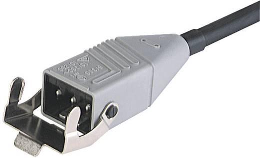 Netz-Anschlusskabel Netz-Stecker - Kabel, offenes Ende Gesamtpolzahl: 3 + PE Schwarz Hirschmann STAS 3K 1 m 1 St.