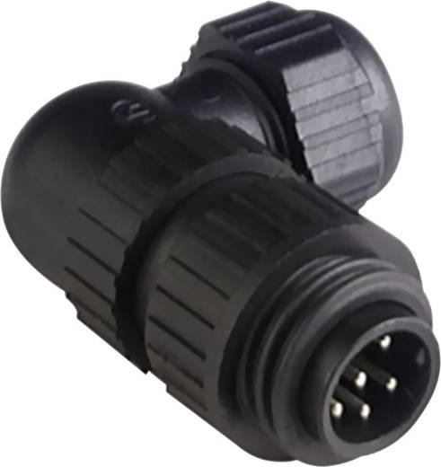 Steckverbinder für Netzspannung CA-Serie Pole: 6 + PE Leitungsstecker 10 A/AC/DC 934 130-100 Hirschmann 1 St.