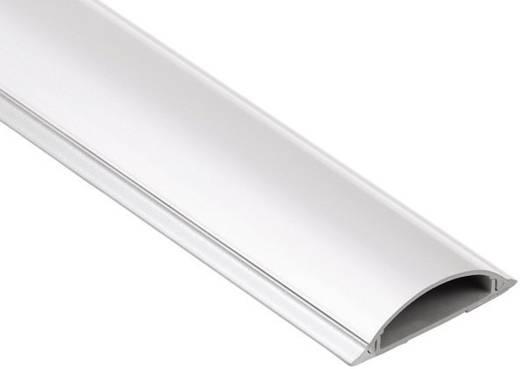 PVC-Kabelkanal, halbrund Passend für (Details): max. 8 Einzelkabel bis 17-mm-Einzel-Ø Weiß Hama Inhalt: 1 St.