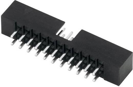 Stiftleiste Rastermaß: 2 mm Polzahl Gesamt: 20 W & P Products 1 St.