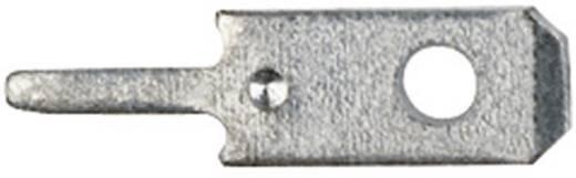 Steckzunge zum Einlöten in gedruckte Schaltungen Steckbreite: 2.8 mm Steckdicke: 0.8 mm 180 ° Unisoliert Metall Klauke 2