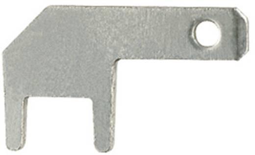 Steckzunge zum Einlöten in gedruckte Schaltungen Steckbreite: 2.8 mm Steckdicke: 0.8 mm 90 ° Unisoliert Metall Klauke 20