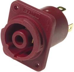 Vestavná síťová zásuvka Cliff Cliffcon, 250 V, 20 A, vertikální, červená, FCR2069