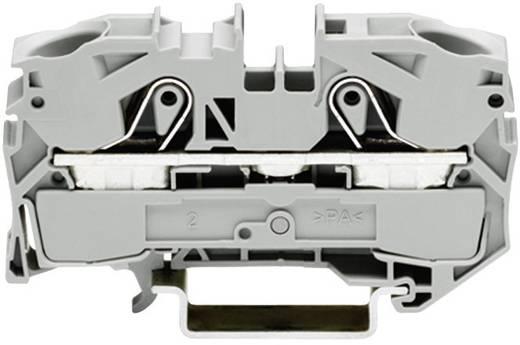 Schutzleiterklemme 12 mm Zugfeder Belegung: PE Grün-Gelb WAGO 2016-1207 1 St.