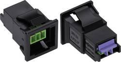 Síťová zásuvka Wago Winsta KNX, 50 V, 3 A, 2pólová, zelená, 893-2002