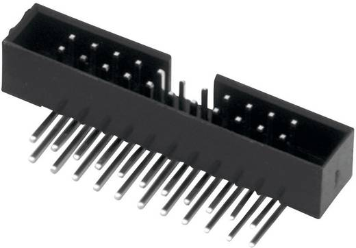 Stiftleiste Rastermaß: 2 mm Polzahl Gesamt: 6 W & P Products 1 St.