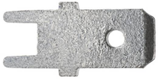 Steckzunge zum Einlöten in gedruckte Schaltungen Steckbreite: 6.3 mm Steckdicke: 0.8 mm 180 ° Unisoliert Metall Klauke 2