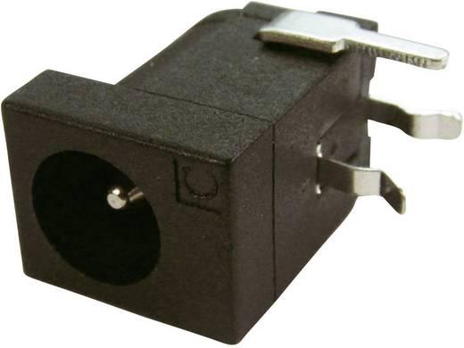 Niedervolt-Steckverbinder Buchse, Einbau horizontal 4 mm 2.1 mm Cliff DC-10LP 1 St.
