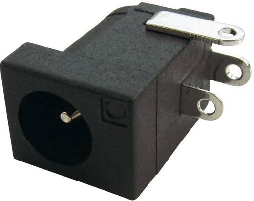Niedervolt-Steckverbinder Buchse, Einbau horizontal 4 mm 2.1 mm Cliff DC-10L 1 St.