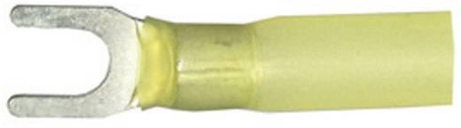Gabelkabelschuh mit Schrumpfschlauch 4 mm² 6 mm² Loch-Ø=6.5 mm Teilisoliert Gelb Vogt Verbindungstechnik 3660ch 1 St.